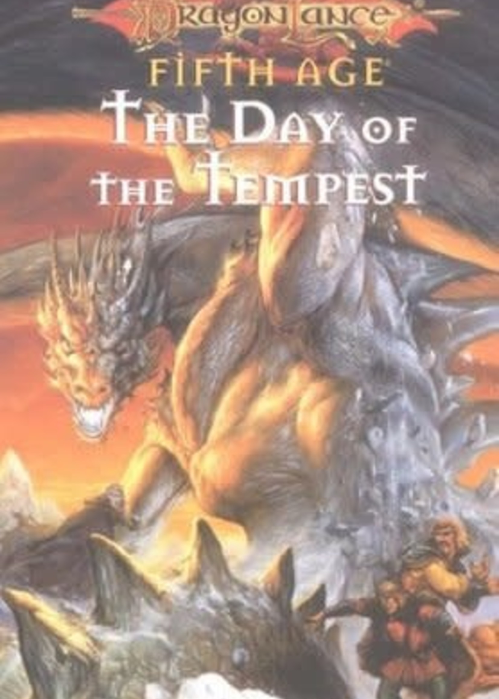 The Day of the Tempest (Dragonlance: Dragons of a New Age #3) by Jean Rabe