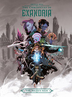 Critical Role: The Chronicles of Exandria the Mighty Nein (The Chronicles of Exandria #3) by Matthew Mercer,  Liam O'Brien,  Taliesin Jaffe