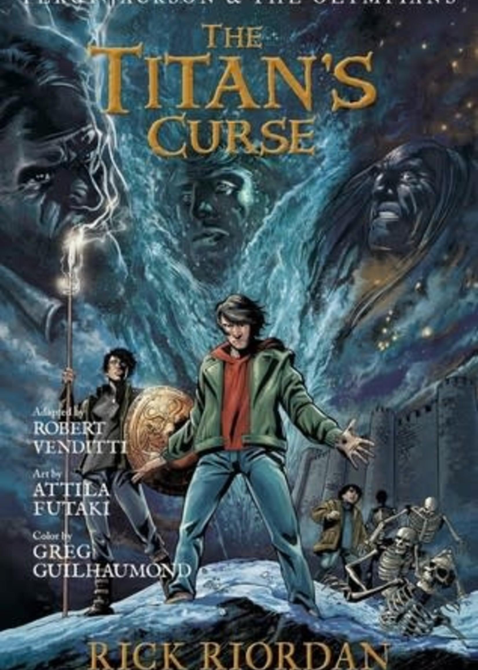 The Titan's Curse: The Graphic Novel (Percy Jackson and the Olympians: The Graphic Novels #3) by Robert Venditti,  Rick Riordan,  Attila Futaki,  Gregory Guilhaumond ,  Chris D