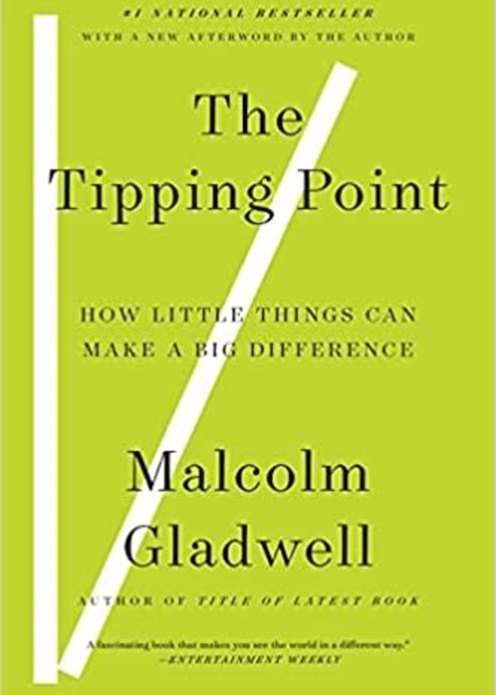 The Tipping Point: How the Little Things Can Make a Big Difference by Malcolm Gladwell
