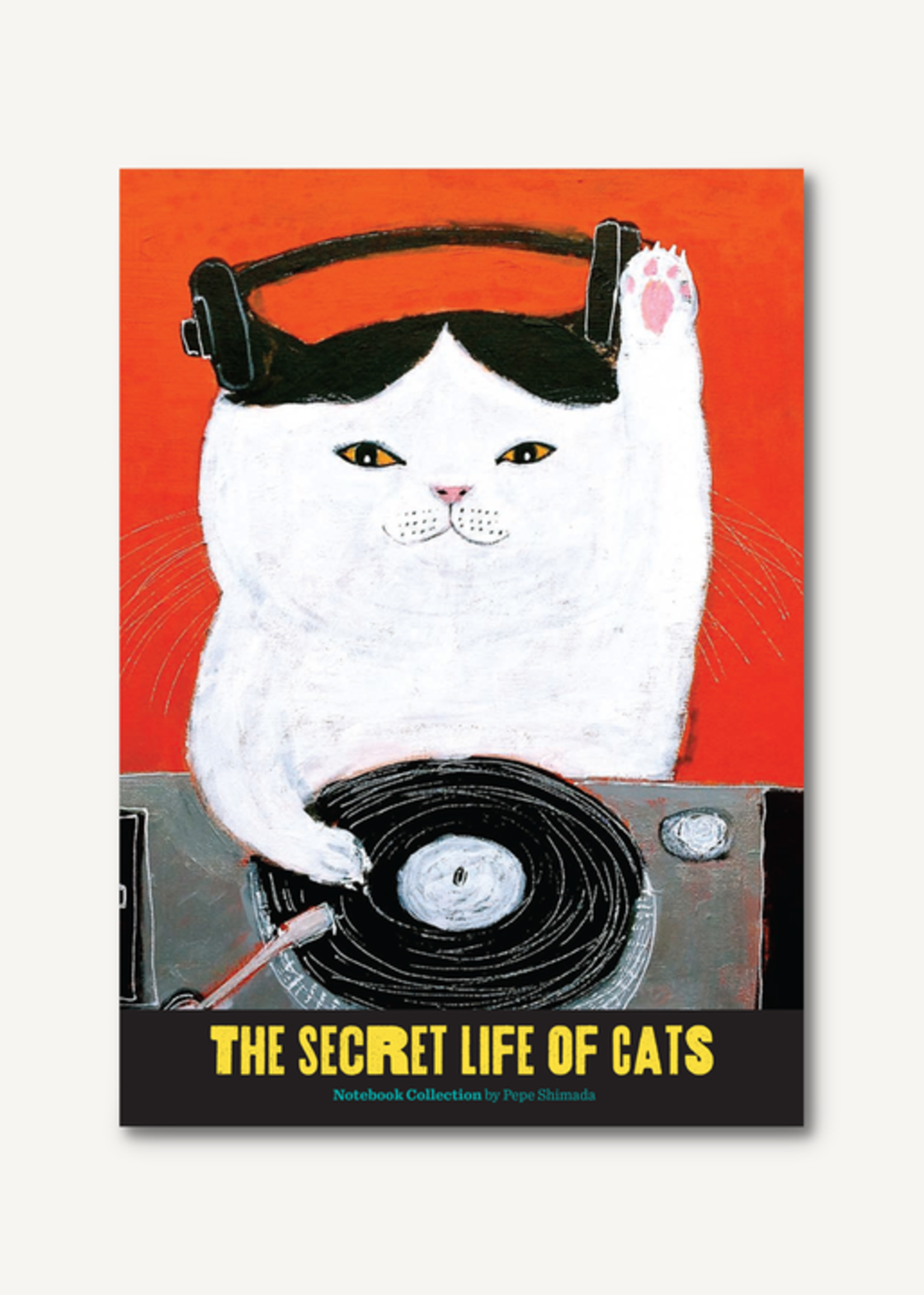 The Secret Life of Cats Notebook Collection BY PEPE SHIMADA