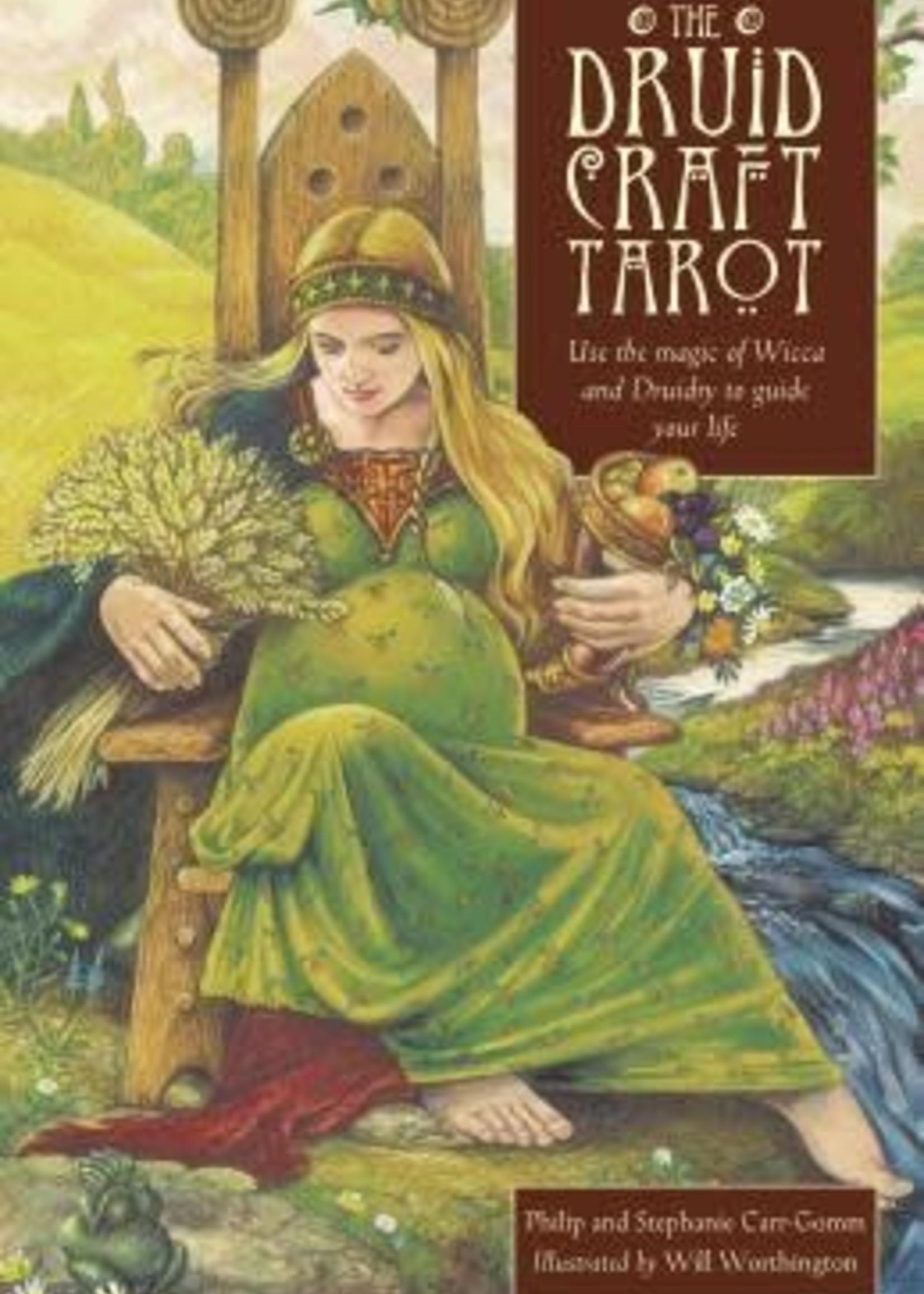 The Druidcraft Tarot by Philip Carr-Gomm,  Bill Worthington