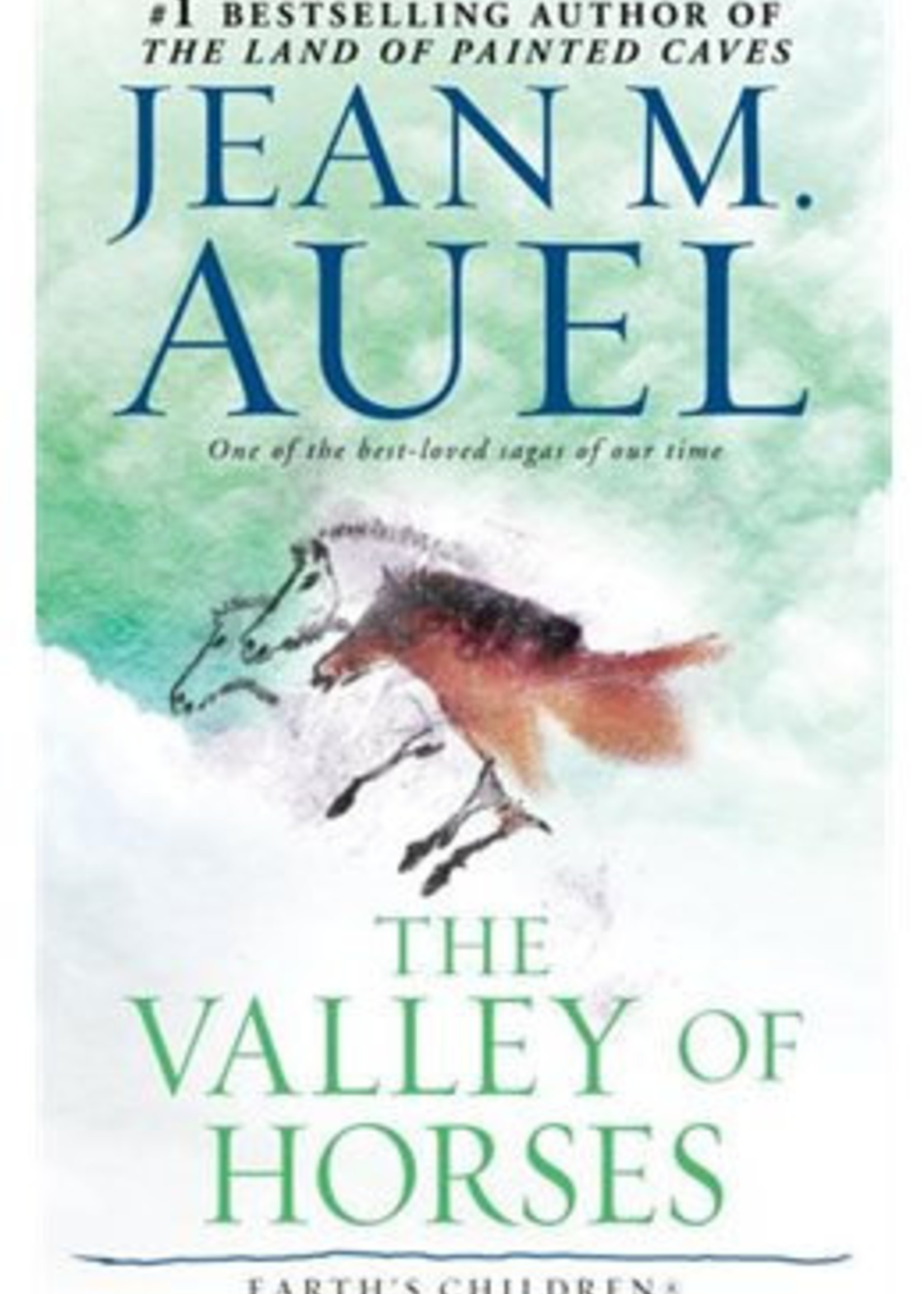 The Valley of Horses (Earth's Children #2) by Jean M. Auel