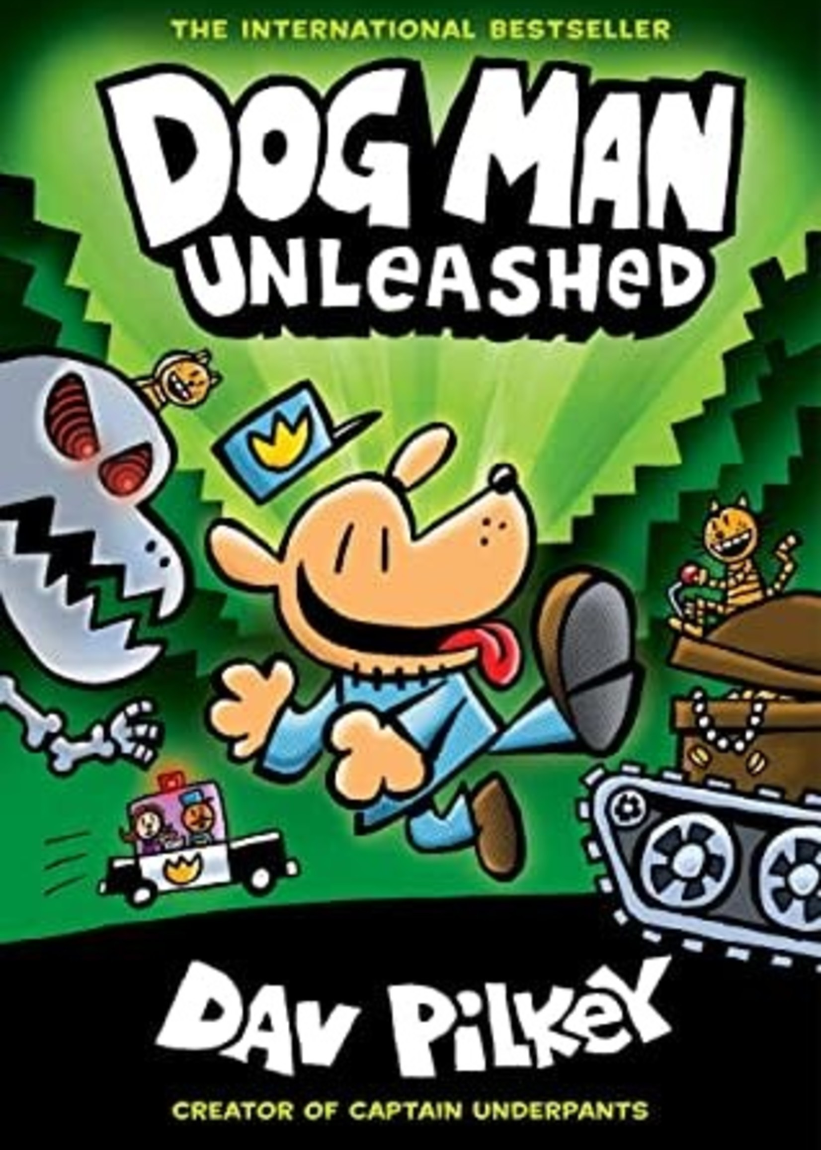 Dog Man Unleashed (Dog Man #2) by Dav Pilkey