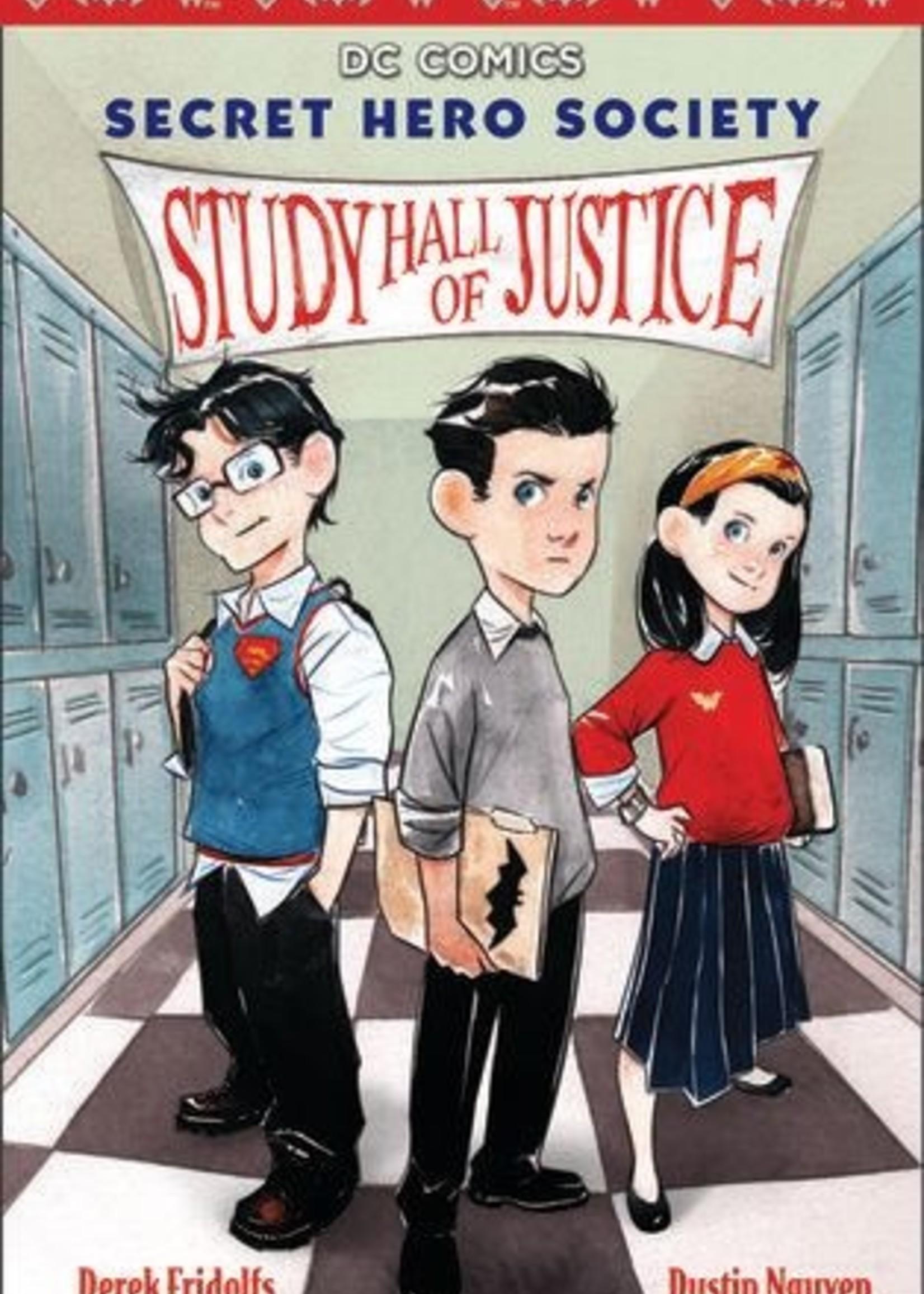 Study Hall of Justice (DC Comics: Secret Hero Society #1) by Derek Fridolfs,  Dustin Nguyen