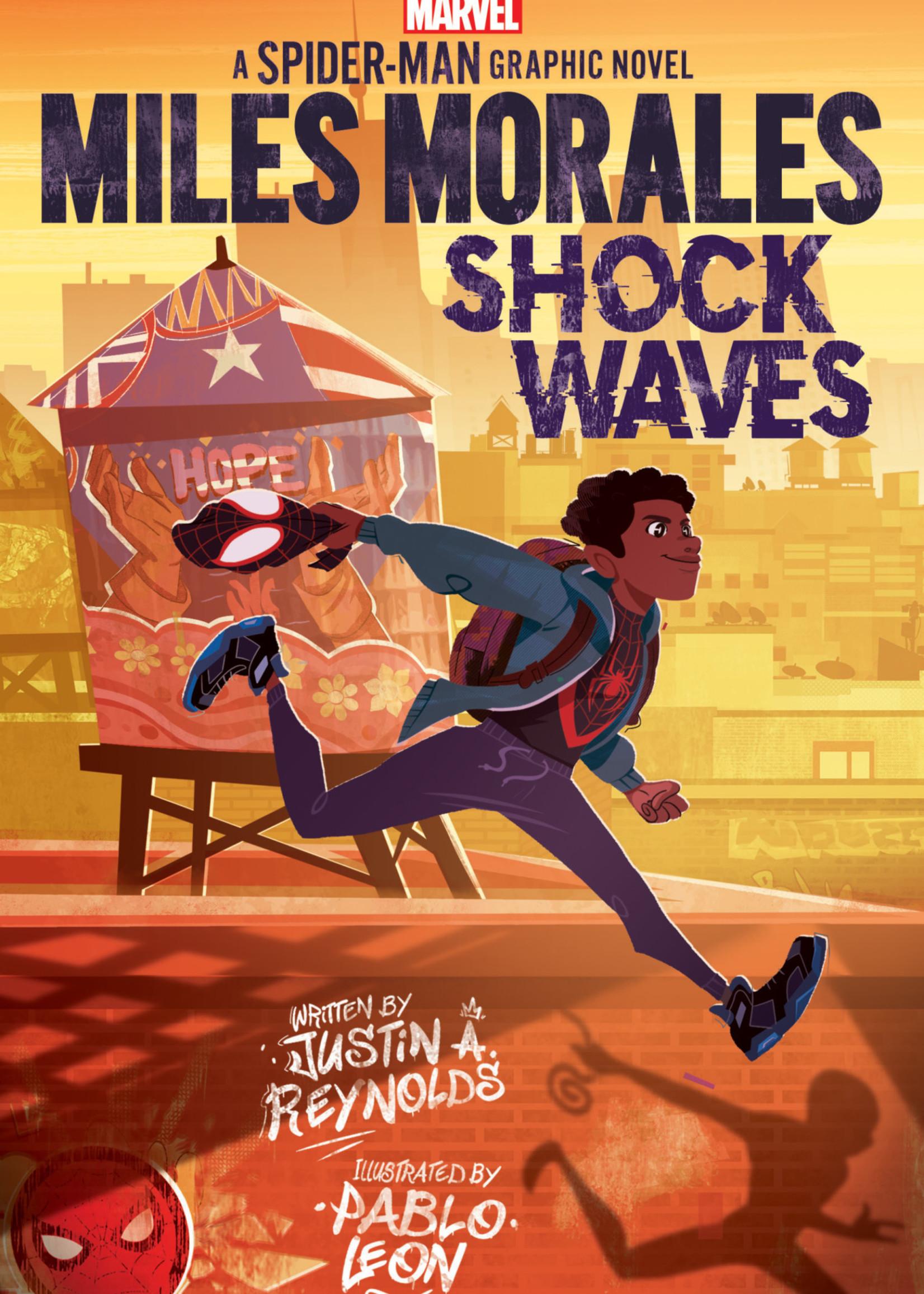 Miles Morales: Shock Waves by Justin A. Reynolds