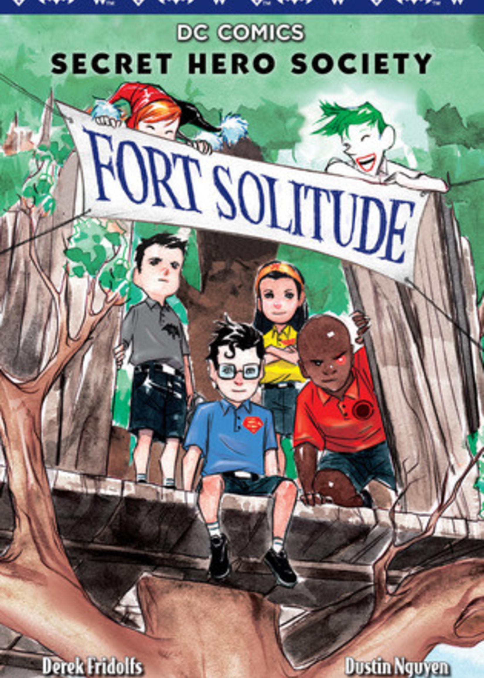 Fort Solitude (DC Comics: Secret Hero Society #2) by Derek Fridolfs,  Dustin Nguyen