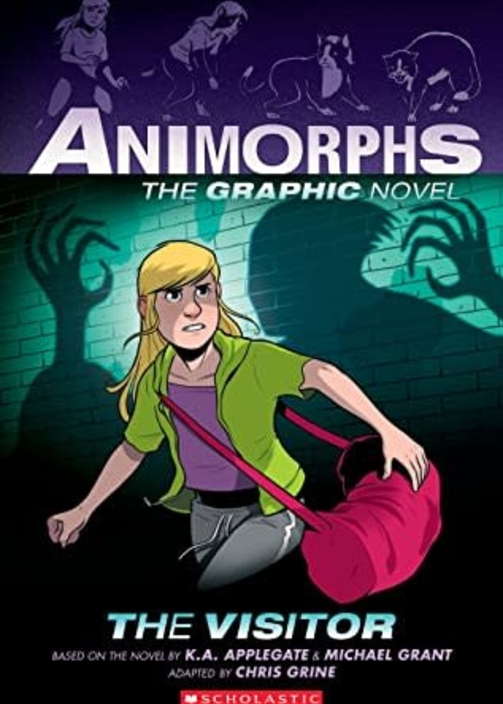 The Visitor (Animorphs Graphix #2) by K.A. Applegate,  Michael Grant,  Chris Grine