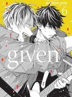 Given, Vol. 6 (ギヴン / Given #6) by Natsuki Kizu