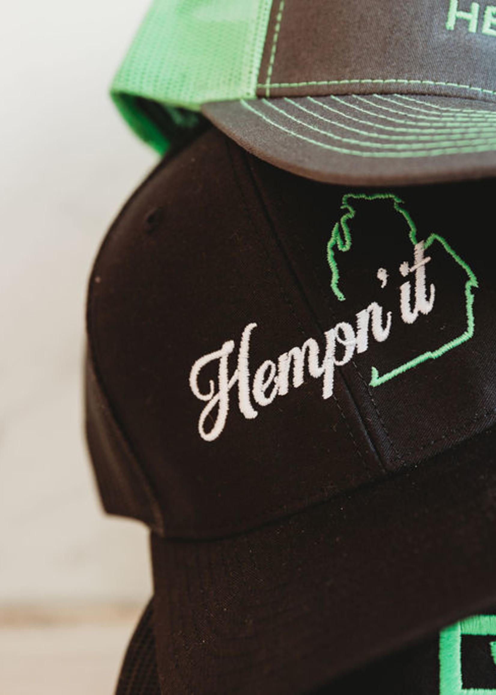 BC Hemp Co. Hempn'it Black Hat