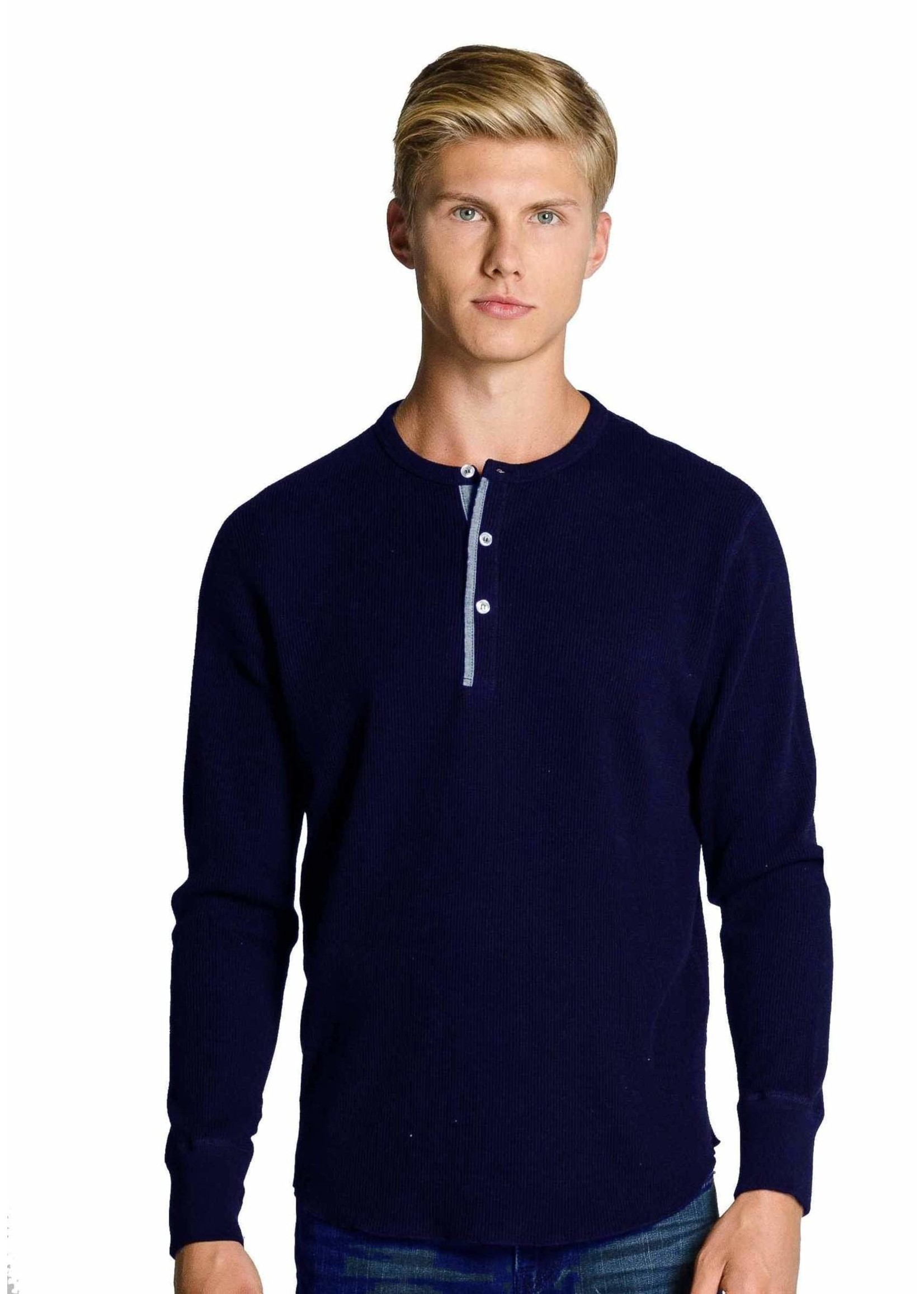 """Redwood Classics Canada The """"Harrison"""" Heritage Edition Henley by Redwood Classics"""
