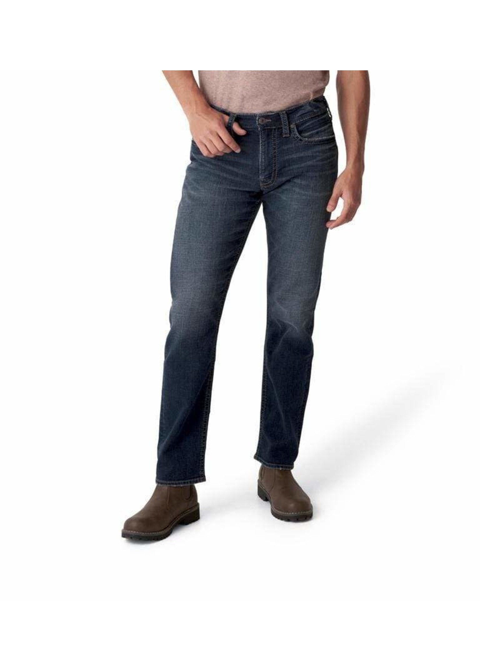 Silver Jeans Silver Jeans Co. - Eddie Relaxed Fit Tapered Leg