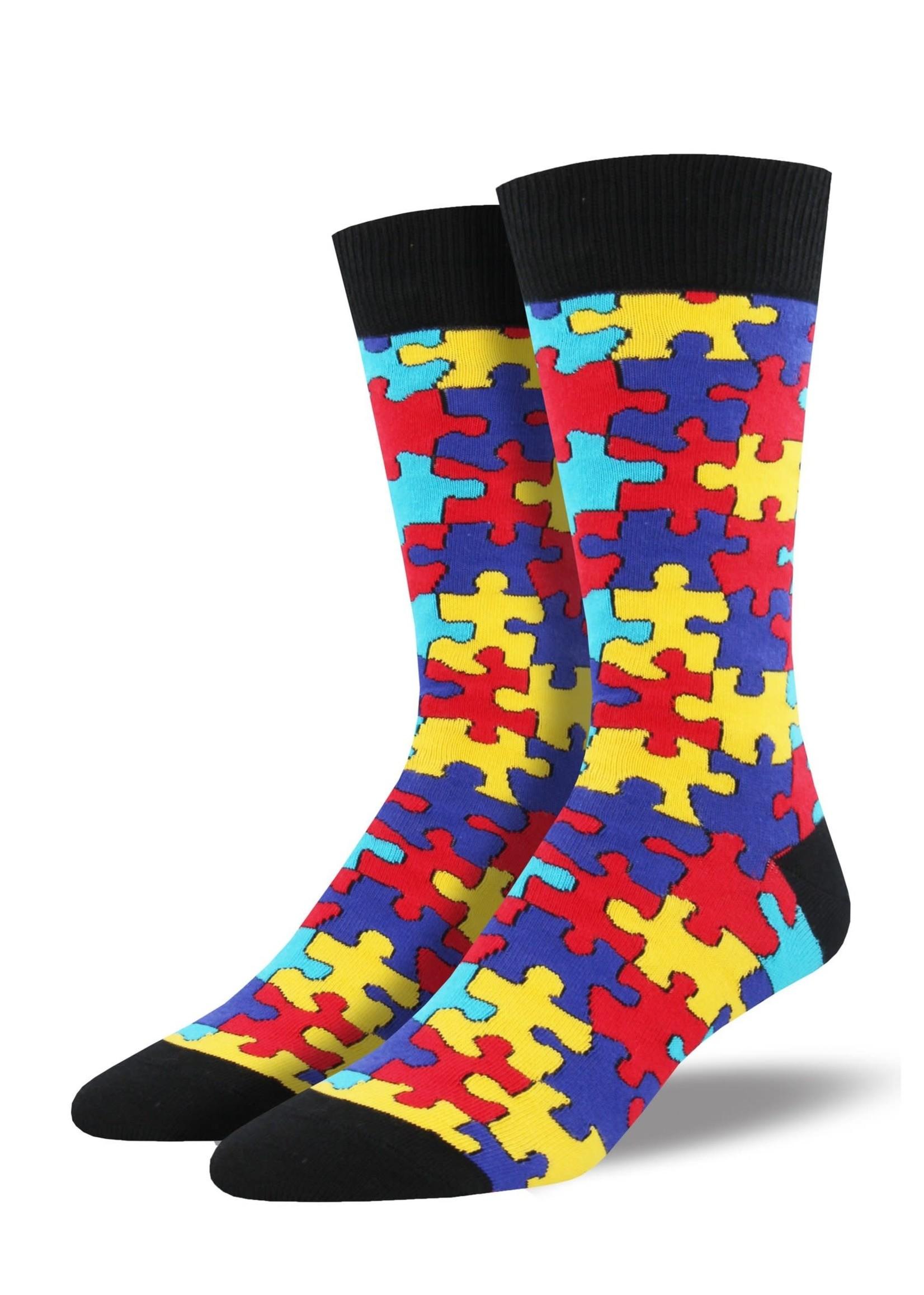 "Socksmith Canada Inc ""Puzzled"" - Cotton Crew"