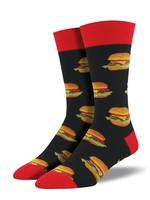 Socksmith Canada Inc Socksmith Canada - Graphic Cotton Crew - Good Burger (BLK)