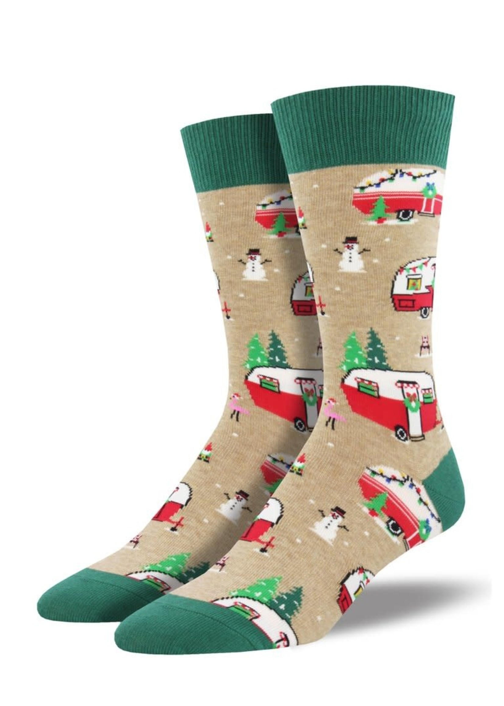 """Socksmith Canada Inc """"Christmas Campers """" - Cotton Crew"""