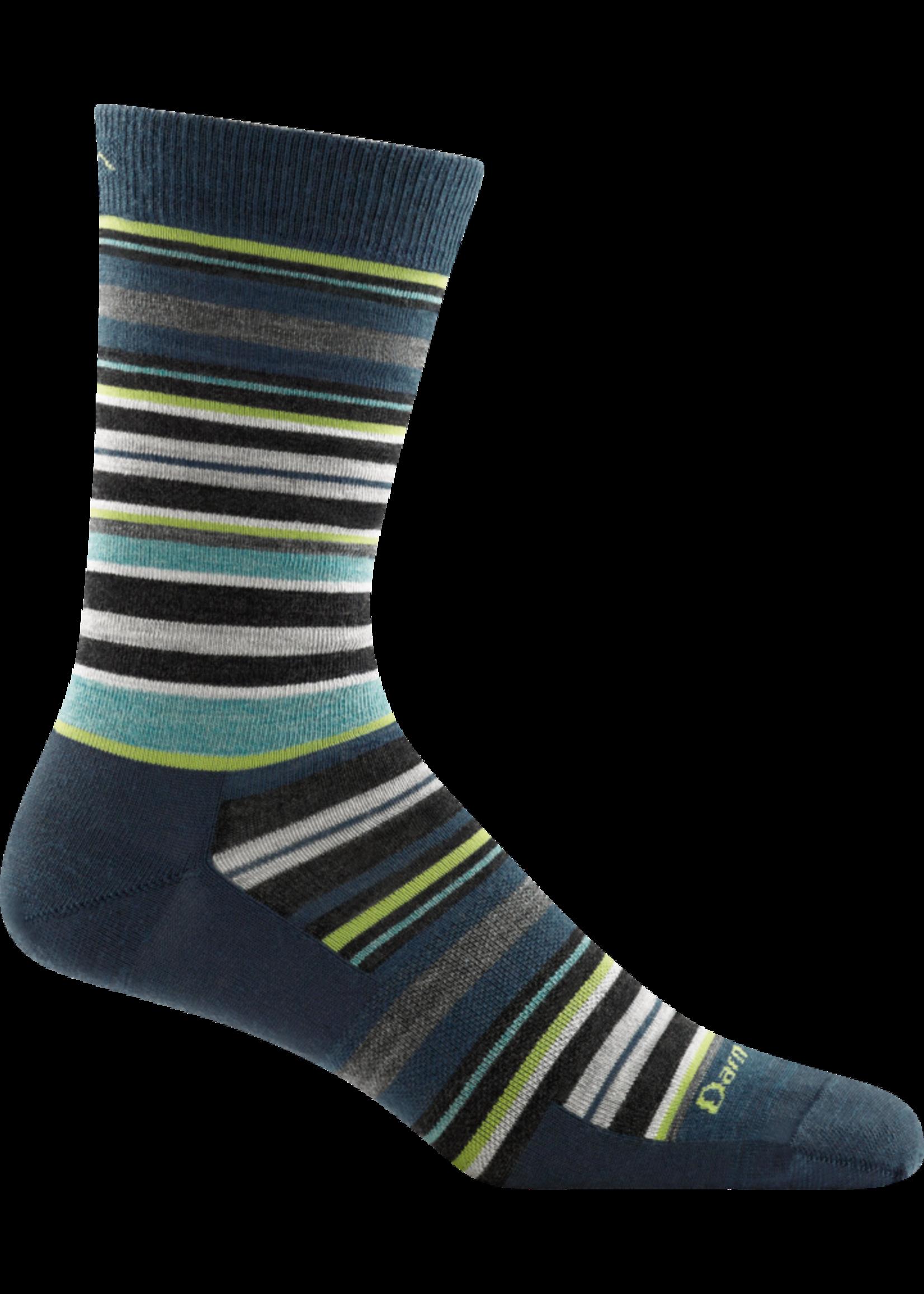 Darn Tough Men's Static Crew Lightweight Lifestyle Sock