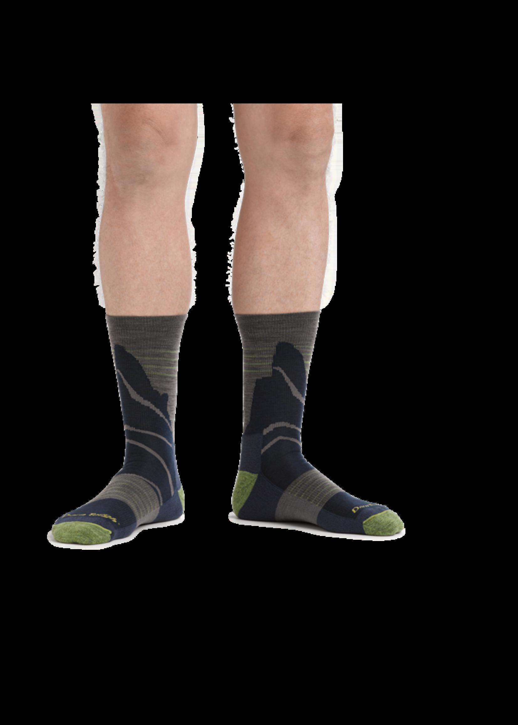 Darn Tough Men's Pinnacle Miro Crew Lightweight Hike Sock