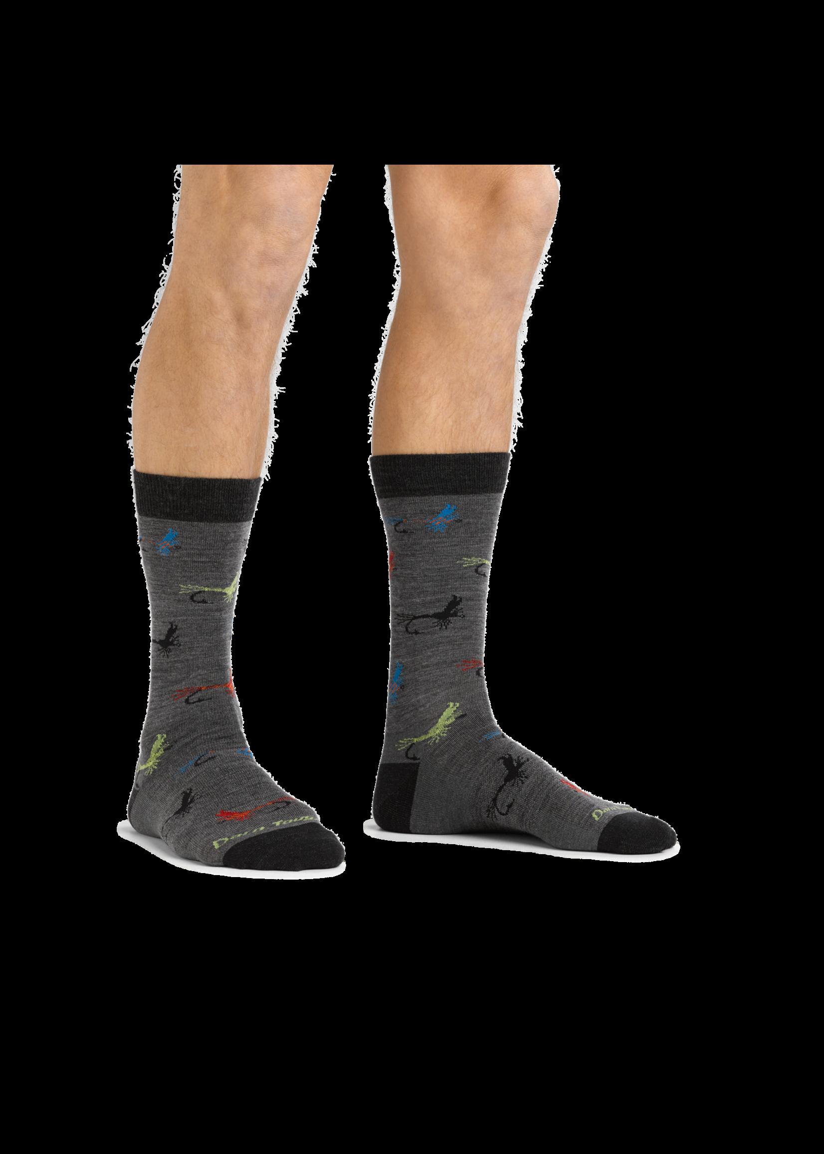Darn Tough Men's Pop McFly Crew Lightweight Lifestyle Sock