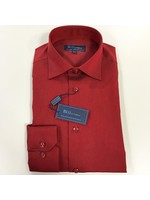 Polifroni Milano Polifroni BLU Dress Shirt Non-Iron (Red)