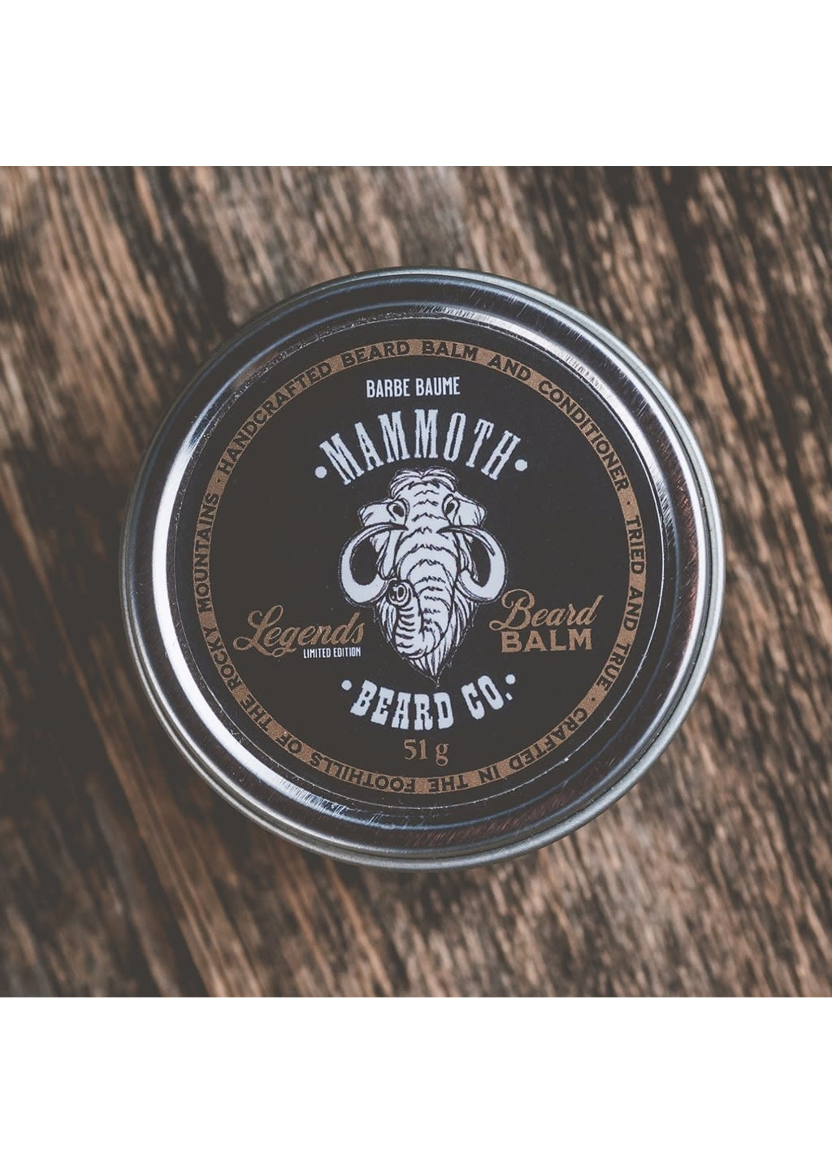 Mammoth Beard Co. Limited Edition - Legends Beard Balm