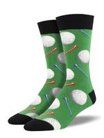 Socksmith Canada Inc Socksmith Canada - Graphic Cotton Crew - Tee It Up King