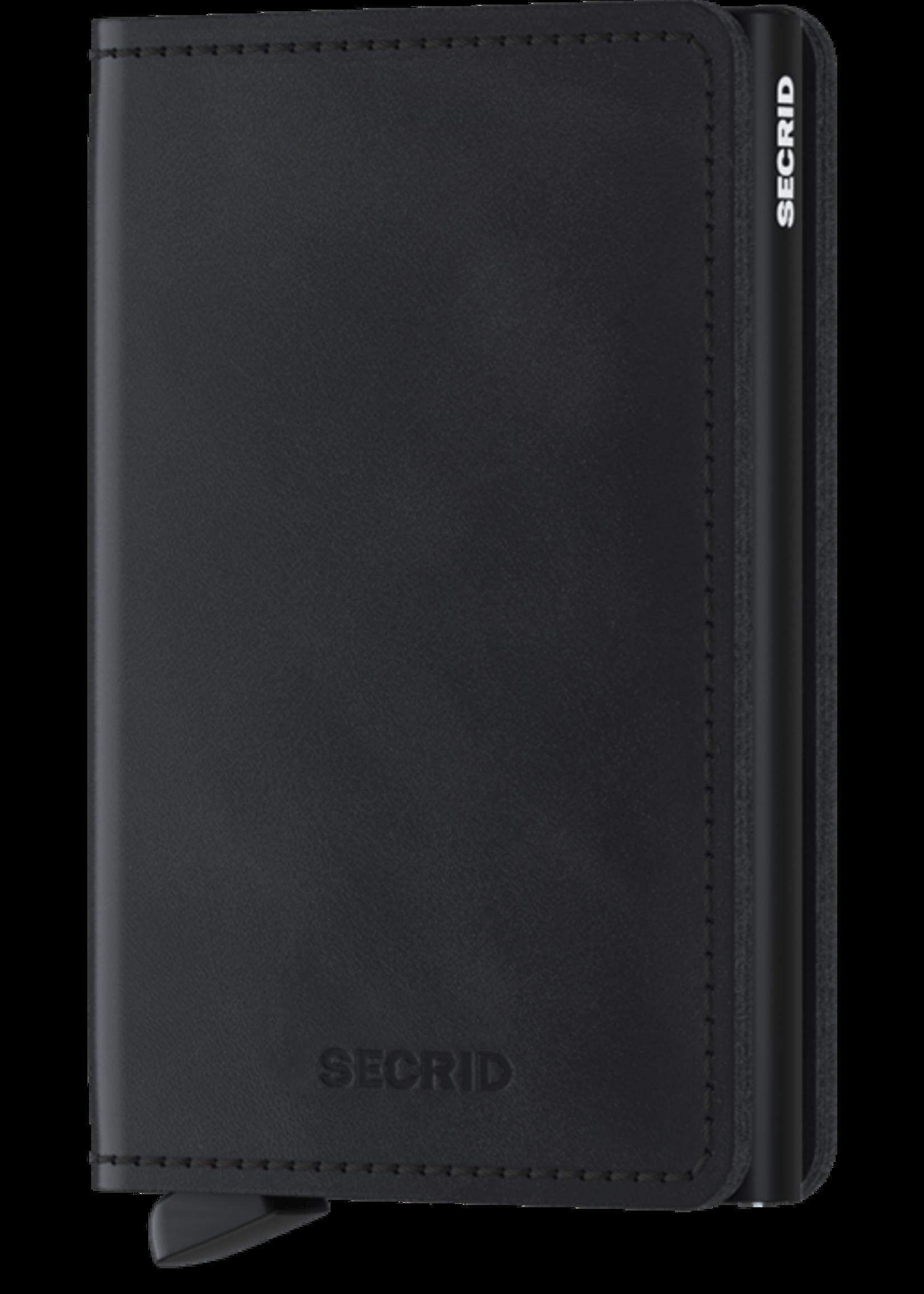 """Secrid The """"Vintage Slimwallet"""" in Black by Secrid"""