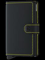 Secrid Secrid - Miniwallet - Matte - Black & Yellow