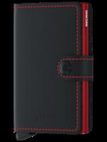 Secrid Secrid - Miniwallet Matte  Black & Red