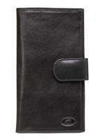 Mancini Mancini Wallets - Leather Passport / Travel Organizer (Black) 52169