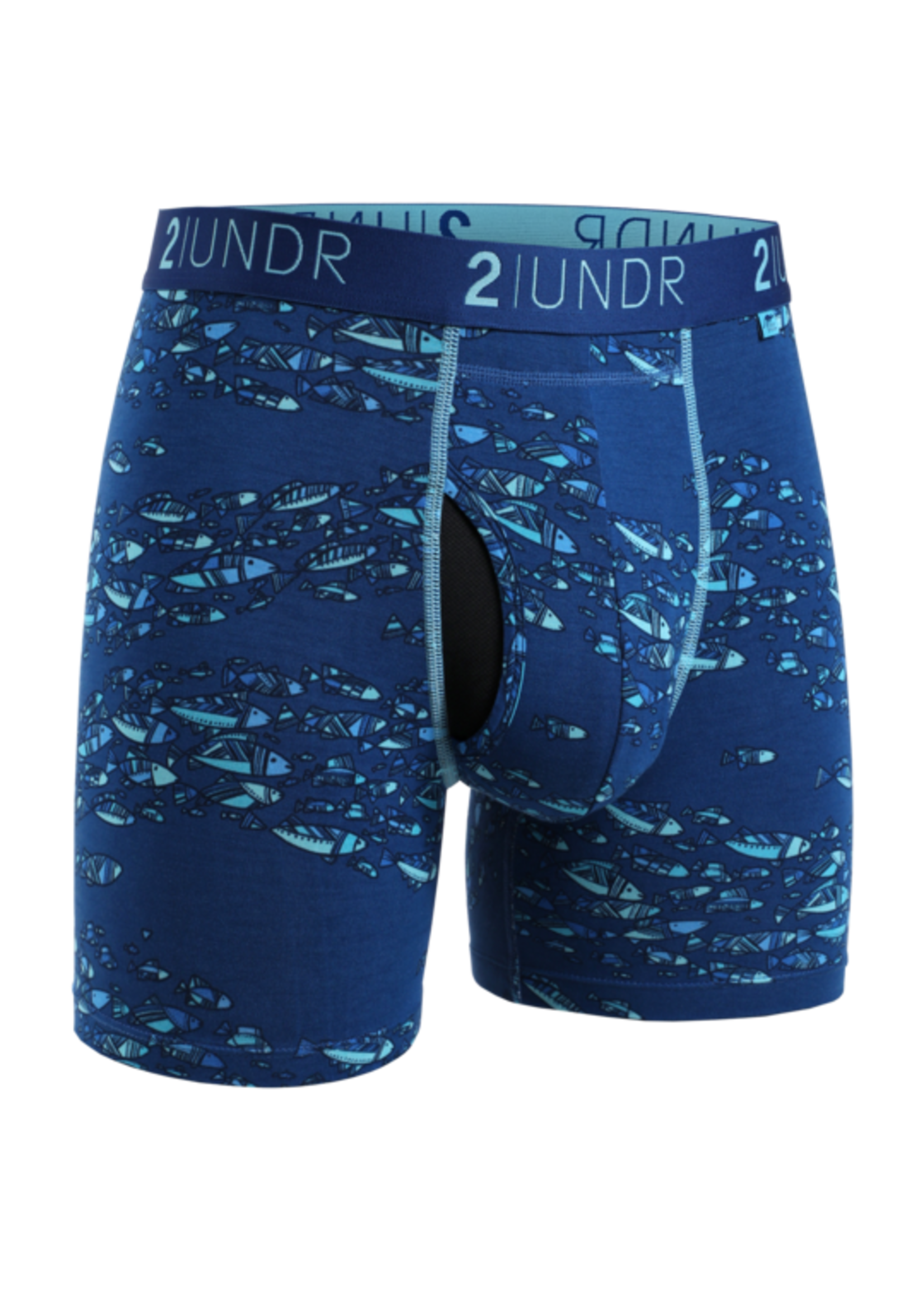 "2UNDR The ""Fish School"" Swing Shift Boxer Brief by 2UNDR"