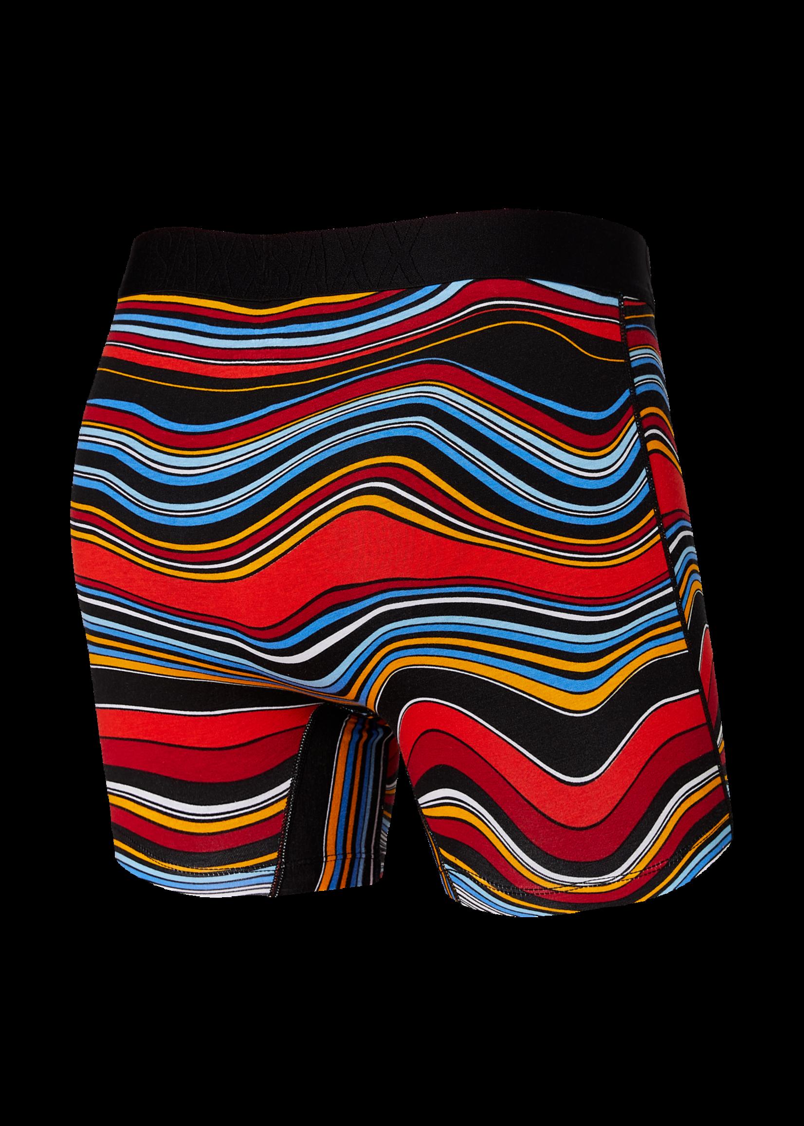 """SAXX SAXX -   """"Multi Warped Stripe"""" Undercover Boxer Brief"""
