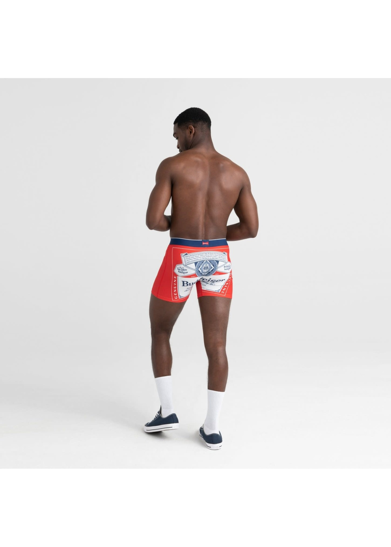 "SAXX The  ""Budweiser Mega Label"" Vibe Boxer Brief"