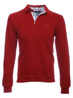 Ethnic Blue Ethnic Blue - Long Sleeve Polo (Red)