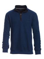 Ethnic Blue Ethnic Blue - Zip Neck Sweater (Royal Blue)