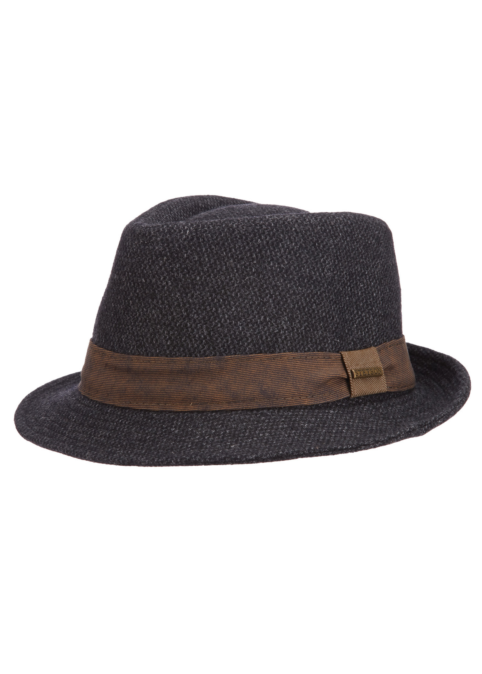 """Stetson The """"Crossgrain Fedora"""" by Stetson"""