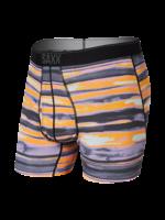 SAXX SAXX - Quest Boxer Brief - Fog Bank Stripe