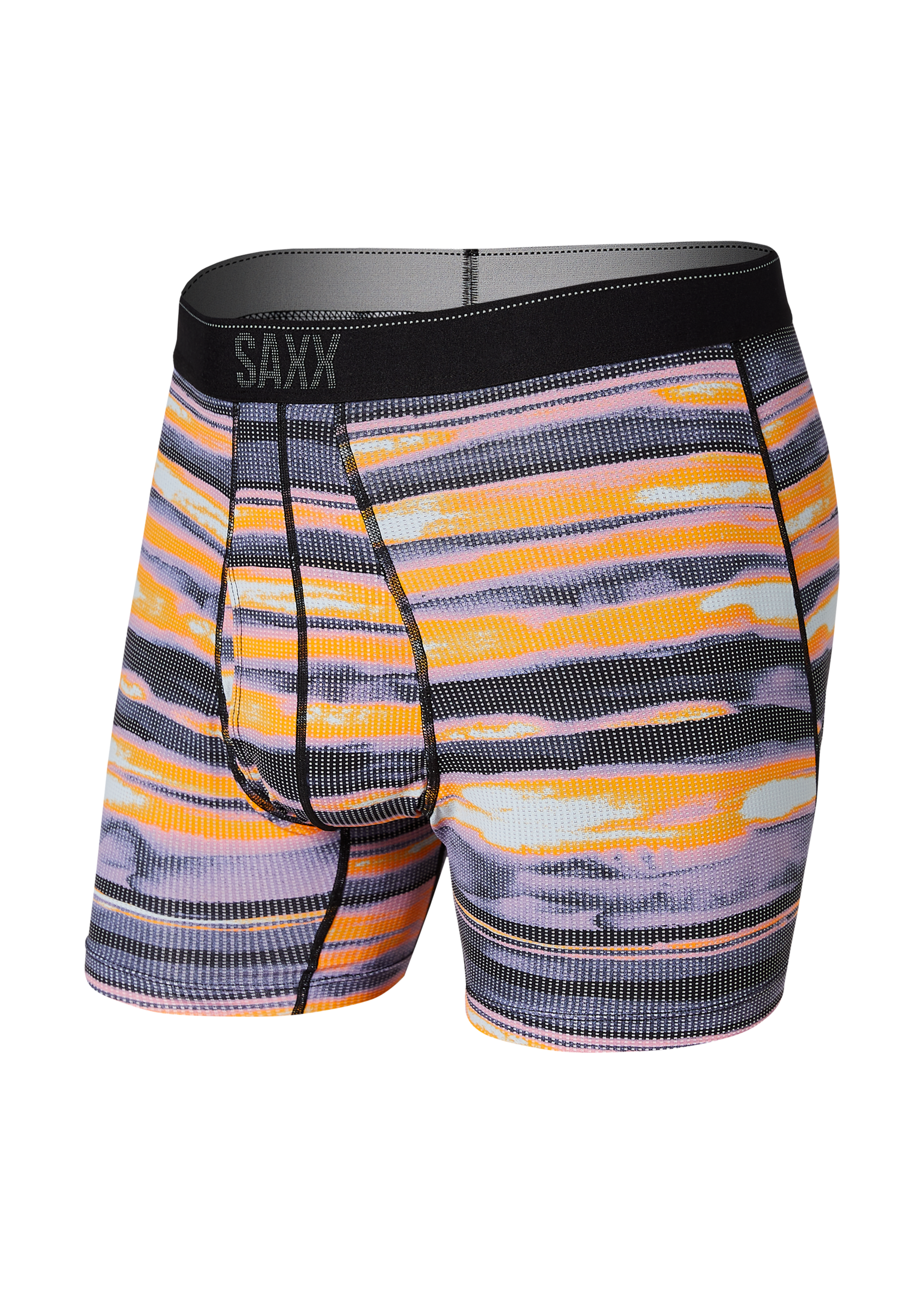 "SAXX ""Fog Bank Stripe"" Quest Boxer Brief"