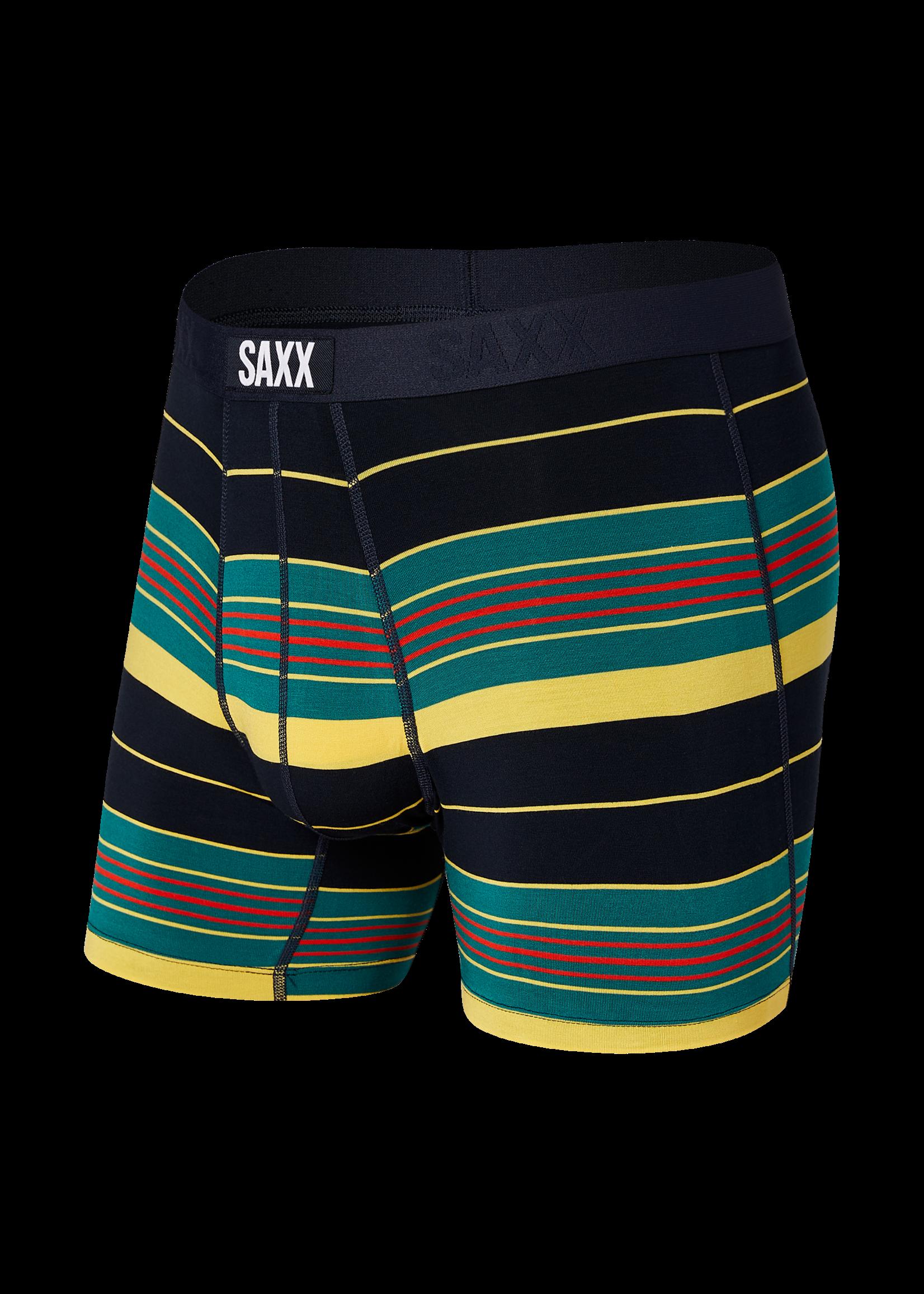 """SAXX The """"Championship Stripe"""" Vibe Boxer Brief"""