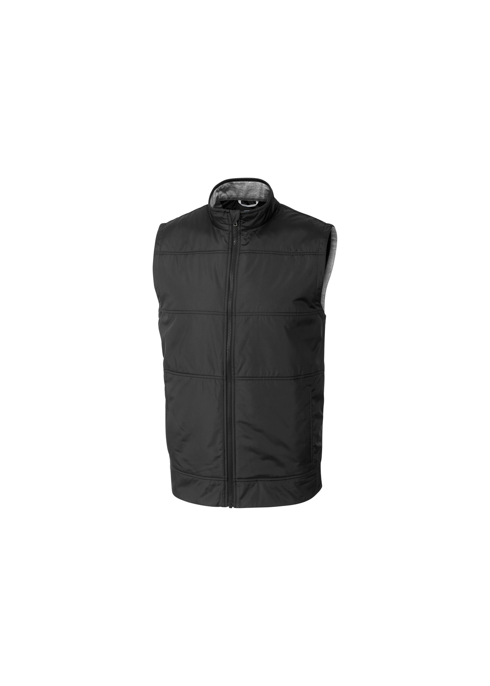 Cutter & Buck Stealth Hybrid Quilted Full Zip Vest by Cutter & Buck