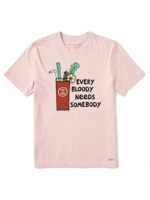 Life Is Good Life Is Good - Crusher Tee - Bloody Mary (69516)