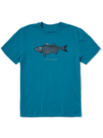Life Is Good Life Is Good - Crusher Tee - Striped Bass (71704)