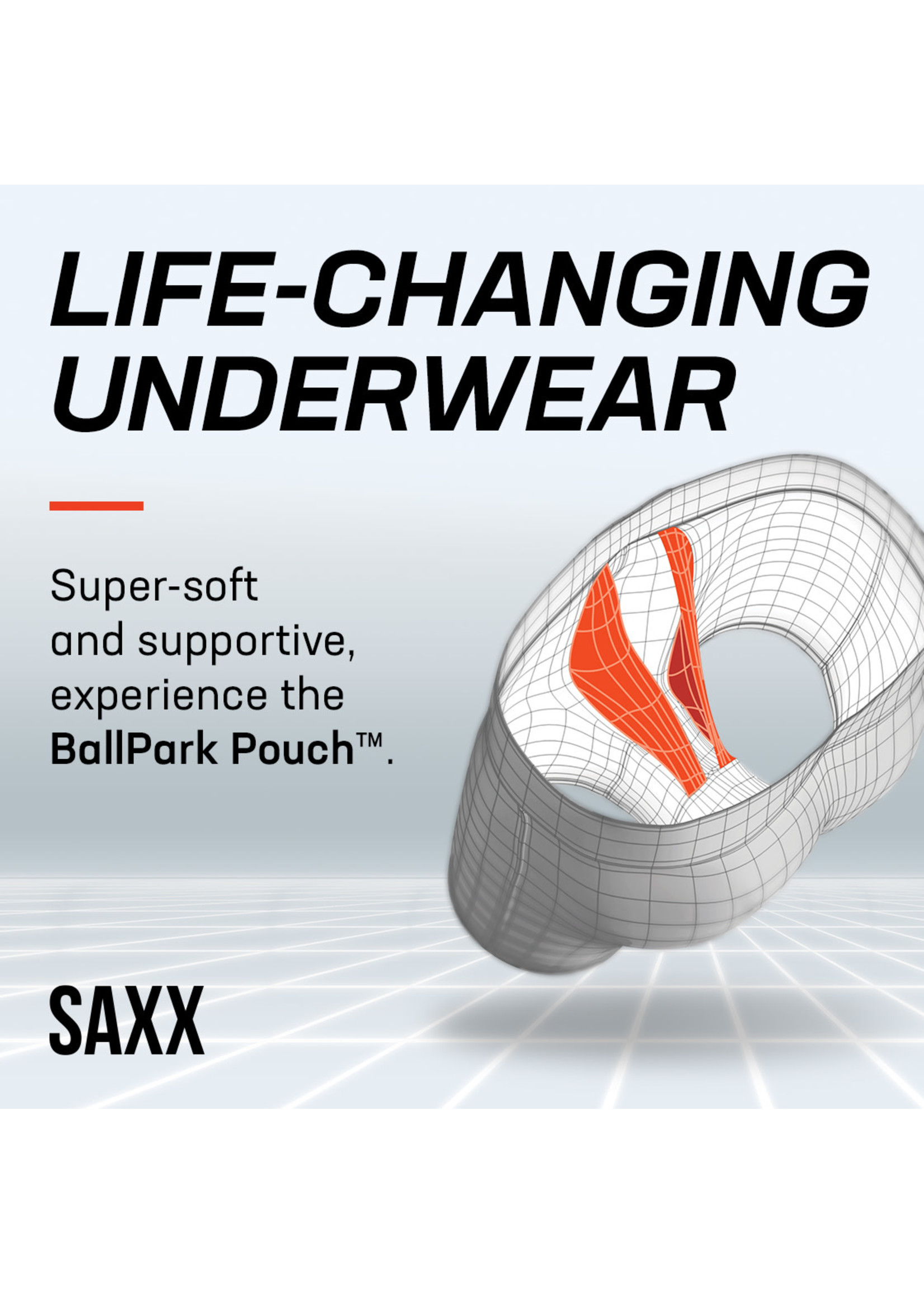 SAXX Saxx - Black Undercover Boxer Brief