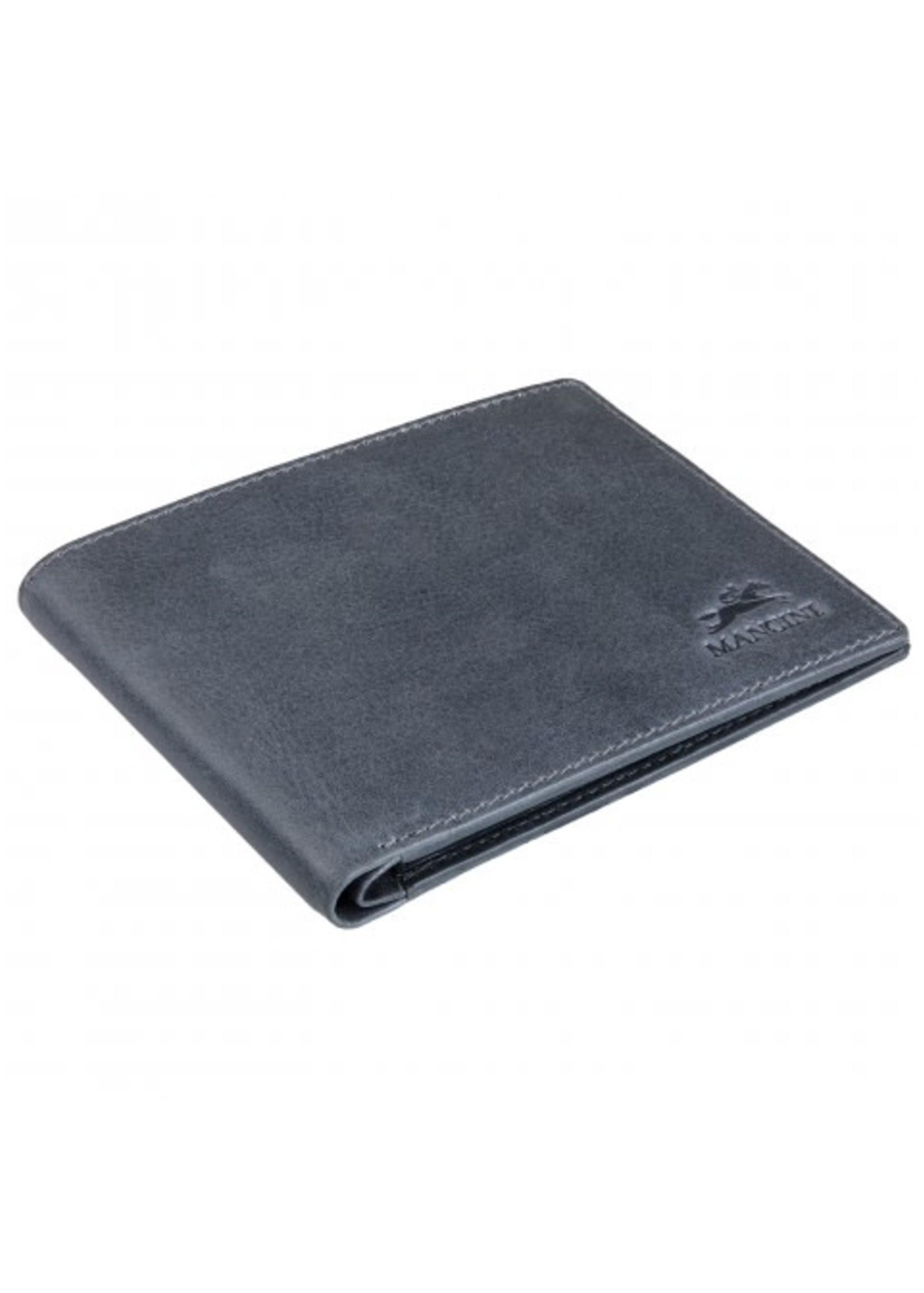 Mancini Men's Leather RFID Billfold