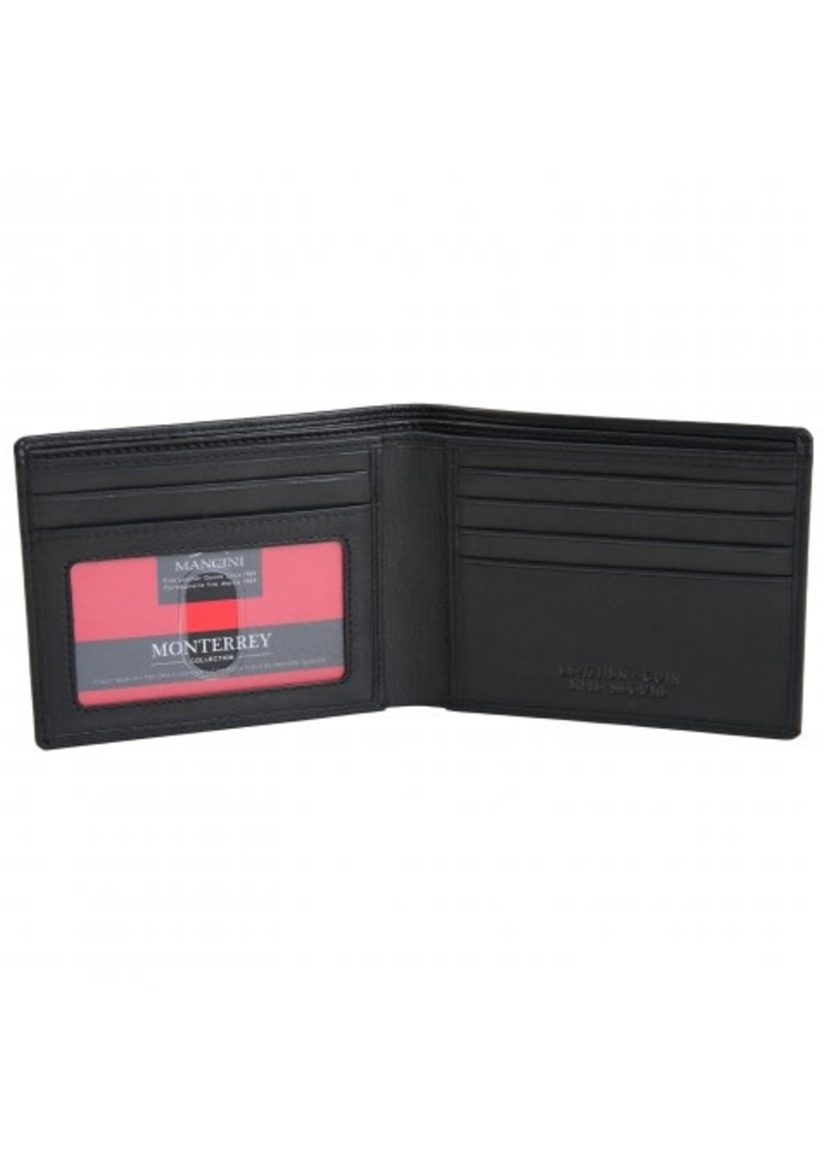Mancini Men's Leather RFID Secure Billfold
