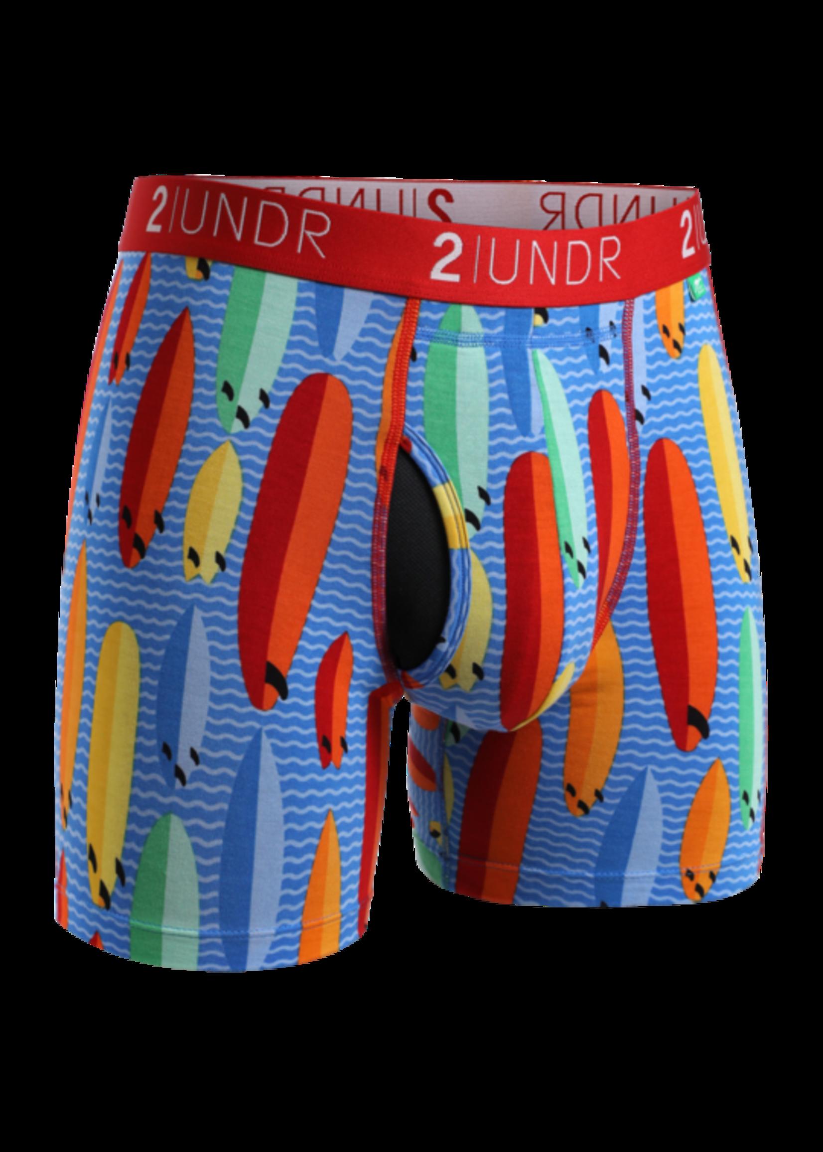 """2UNDR 2UNDR's """"Surf Shop"""" Swing Shift Boxer Brief"""
