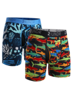 2UNDR 2UNDR - Combo Pack - Coral / Shark