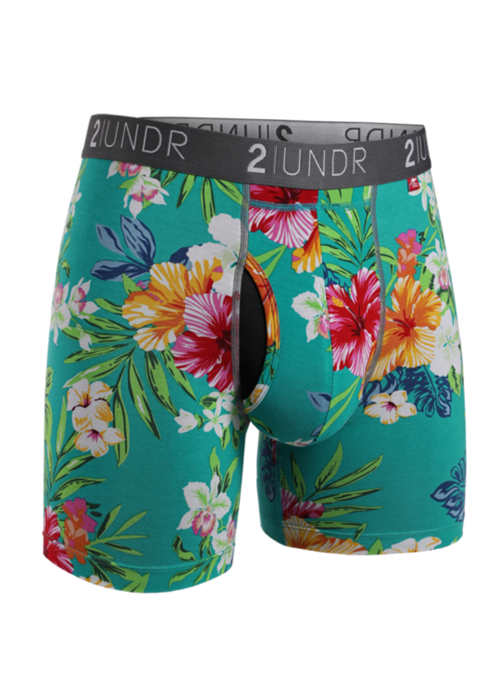 "2UNDR 2UNDR's ""Kona / Turks"" Swing Shift Boxer Brief Two Pack"