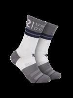 2UNDR 2UNDR - 70 Crew Sock - White / Grey