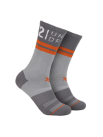 2UNDR 2UNDR - 70 Crew Sock - Grey / Grey