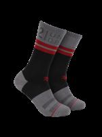 2UNDR 2UNDR - 70 Crew Sock - Black / Grey